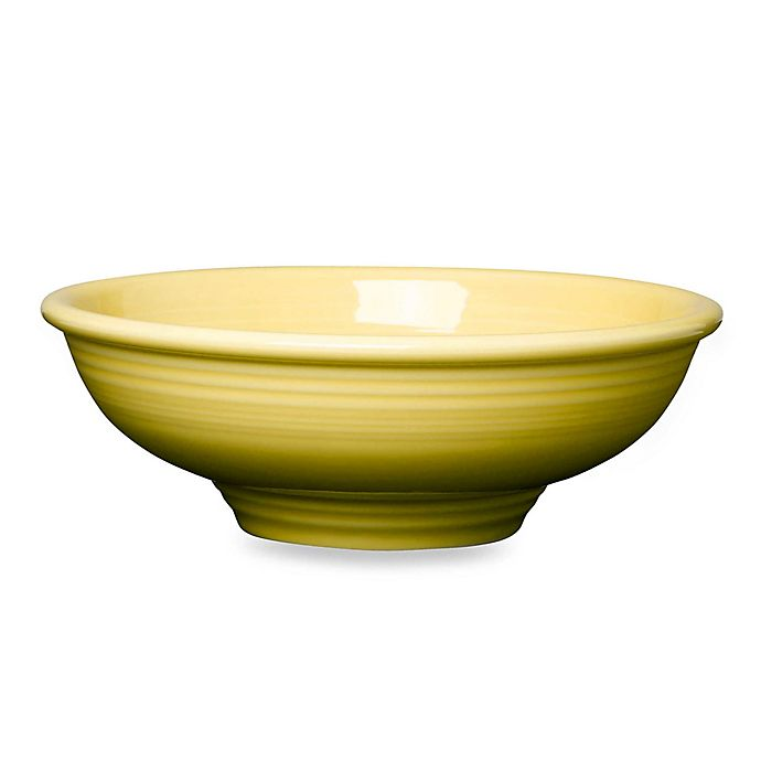 Alternate image 1 for Fiesta® Pedestal Bowl in Sunflower