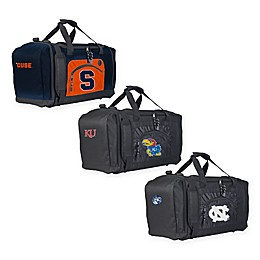 """Collegiate """"Roadblock"""" Duffel Bag by The Northwest in Black Collection"""