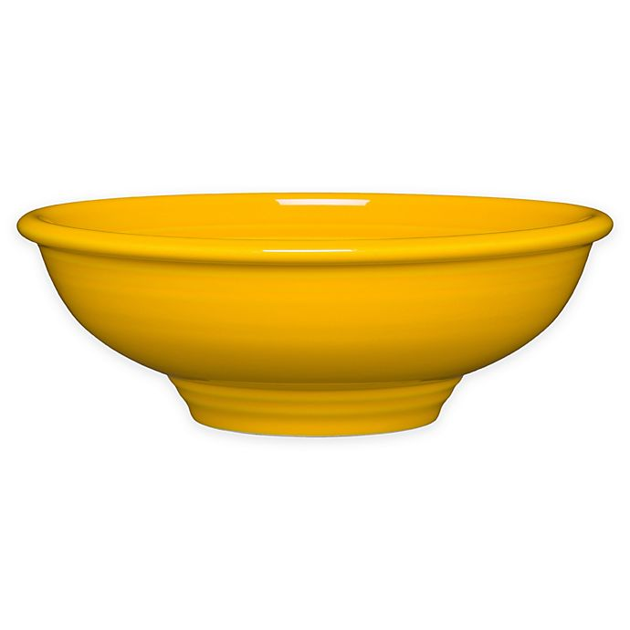 Alternate image 1 for Fiesta® Pedestal Bowl in Daffodil