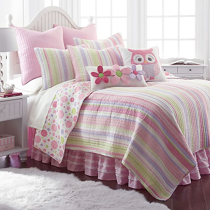 Alternate image 1 for Levtex Home Mya Reversible Quilt Set