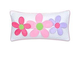 Levtex Home Mya 3D Flowers Oblong Throw Pillow in Pink