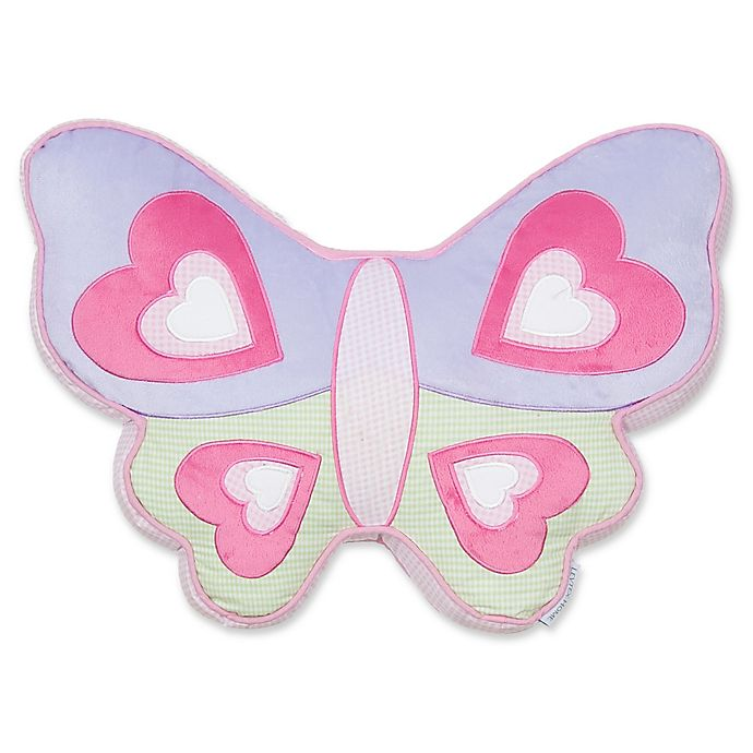 Alternate image 1 for Levtex Home Mya Butterfly Pillow in Pink