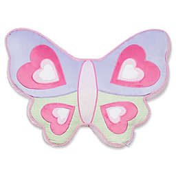 Levtex Home Mya Butterfly Pillow in Pink