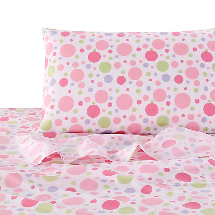 Alternate image 1 for Levtex Home Mya Twin Sheet Set in Pink