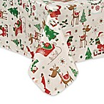 Elrene Magical Journey 52-Inch x 70-Inch Oblong Tablecloth