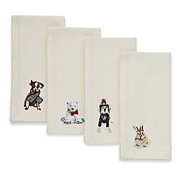 ED Ellen DeGeneres Augie Animals Napkins (Set of 4)