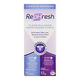 RepHresh Clean Balance™ Feminine Freshness 2-Step Kit