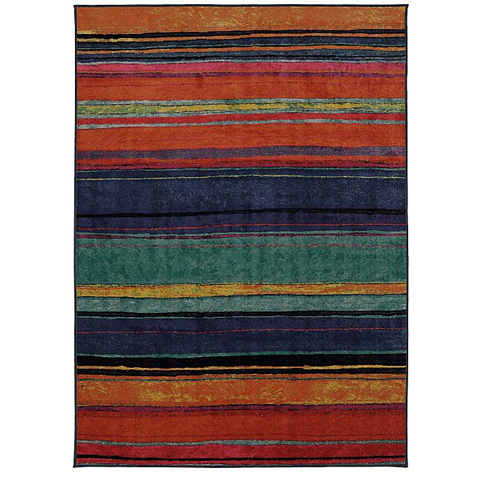Alternate image 1 for Mohawk Rainbow 5-Foot x 8-Foot Area Rug in Kaleidoscope
