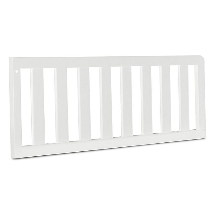 Alternate image 1 for Simmons Kids® Peyton Toddler Guard Rail in Antique White