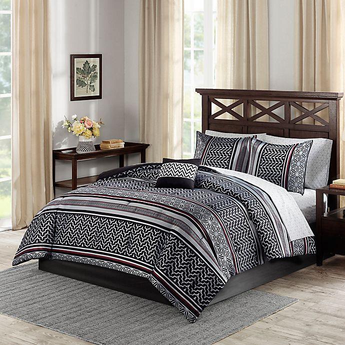Madison Park Essentials Belfast Comforter Set | Bed Bath ...