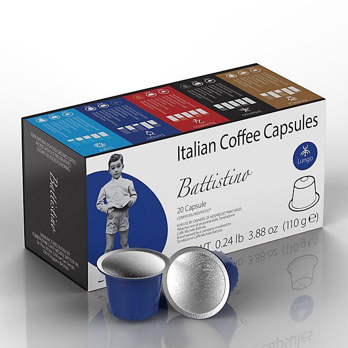 Alternate image 1 for Battistino 100-Count Lungo Espresso Capsules