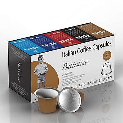 Battistino 100-Count Arabica Espresso Capsules