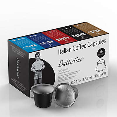 Battistino 100-Count Intenso Espresso Capsules