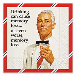 Design Design 20-Count Memory Loss Cocktail Napkin