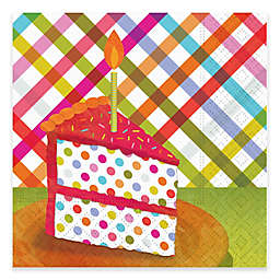 Design Design 20-Count Pop Cake Slice Cocktail Napkin