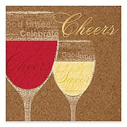 """Design Design 20-Count """"Good Cheers"""" Beverage Napkin"""