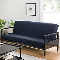 Cotton Full Futon Cover in Navy