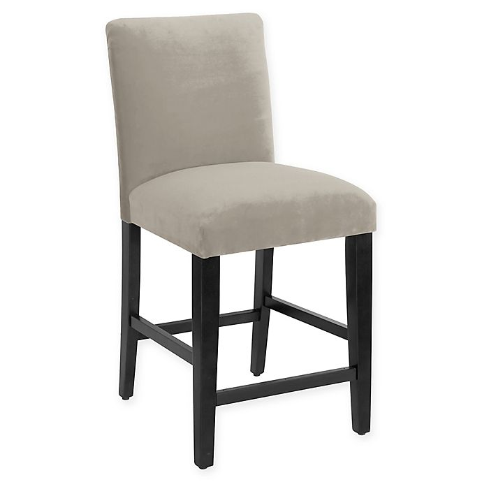Alternate image 1 for Skyline Furniture Noah Counter Stool in Regal Silver Grey