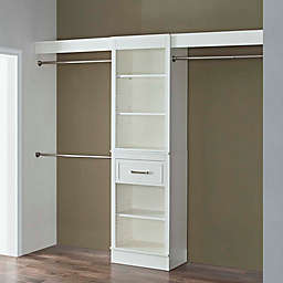 French Heritage Closet Organizer In Parisian White