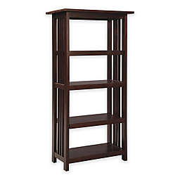 Wood Metal Bookcases