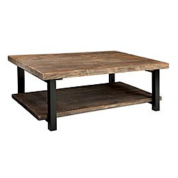 Pomona Metal and Reclaimed Wood Coffee Table