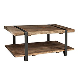 Modesto Metal and Reclaimed Wood Coffee Table
