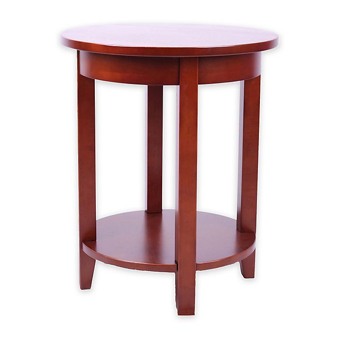 Alaterre Shaker Cottage Round Accent Table Bed Bath Amp Beyond