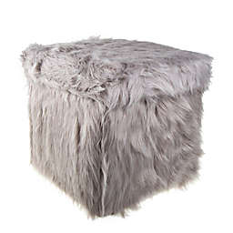 Fur Storage Ottoman Home Ideas