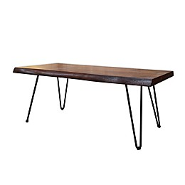 222 Fifth Hairpin Live Edge Acacia Table