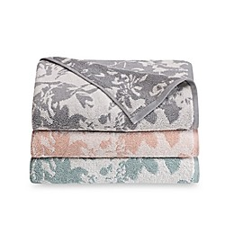 Loft by Loftex Floral Block Bath Towel Collection