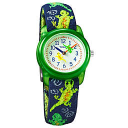 Timex® Time Machines Children's 29mm Geckos Watch in Blue/Green