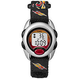 Timex® Time Machines Children's 34mm Flames Digital Watch with Black FastWrap® Strap