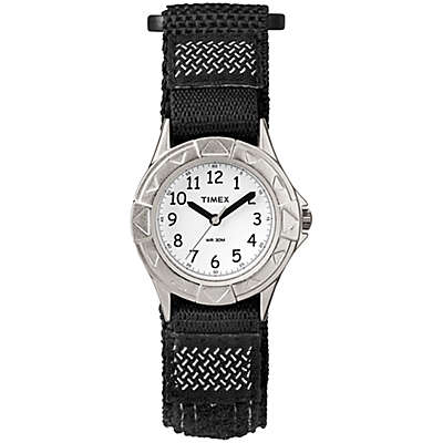 Timex® Children's 28mm My First Outdoors Watch in Black/Silver