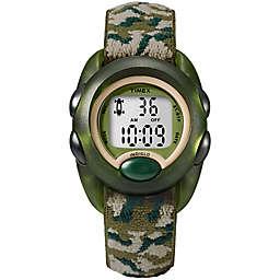 Timex® Time Machines Children's 34mm Digital Watch with Camouflage Strap