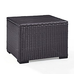 Norbourne Isle All-Weather Wicker Coffee Table in Brown