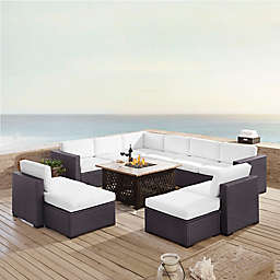 Norbourne Isle 8-Piece Resin Wicker Outdoor Sectional Set with Cushions