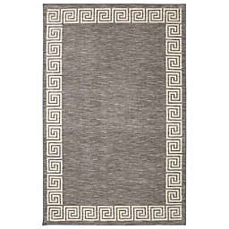 Mohawk Home Oceanus Area Rug in Grey