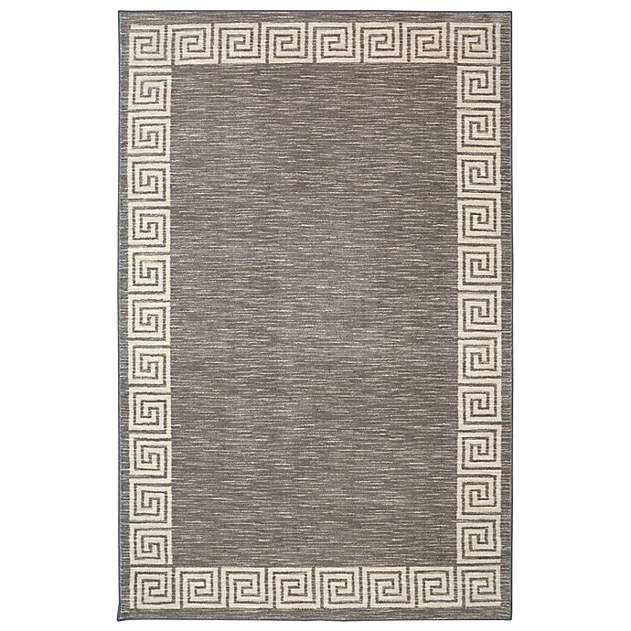 Alternate image 1 for Mohawk Home Oceanus 7-Foot 6-Inch x 10-Foot Area Rug in Grey