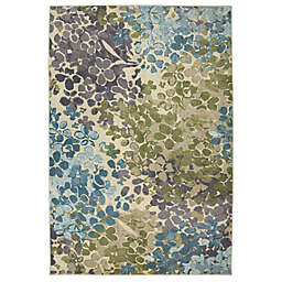Mohawk Home Radiance Area Rug in Aqua