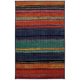 Mohawk Home Rainbow Kaleidoscope 7-Foot 6-Inch x 10-Foot Multicolor Area Rug