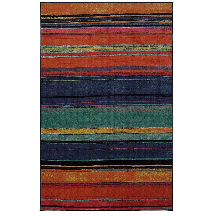 Alternate image 1 for Mohawk Home Rainbow Kaleidoscope 7-Foot 6-Inch x 10-Foot Multicolor Area Rug