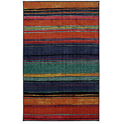 Mohawk Home Rainbow Kaleidoscope 7-Foot 6-Inch x 10-Foot Multicolor Area Rug