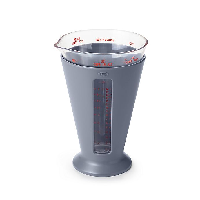 Alternate image 1 for OXO Good Grips® 2-Cup Multi-Unit Measuring Cup in Slate