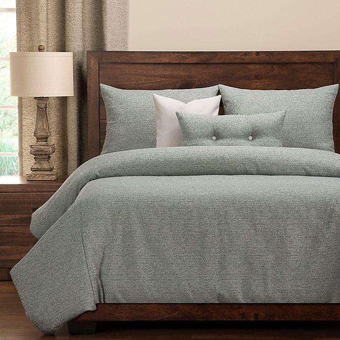 buy pologear belmont california king duvet cover set in capri from bed bath beyond. Black Bedroom Furniture Sets. Home Design Ideas