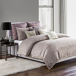 Highline Bedding Co. Driftwood Duvet Cover Set in Plum