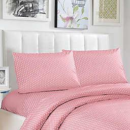 Lala + Bash Pollus Twin Sheet Set in Pink
