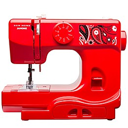 Janome Portable Sewing Machine in Blush
