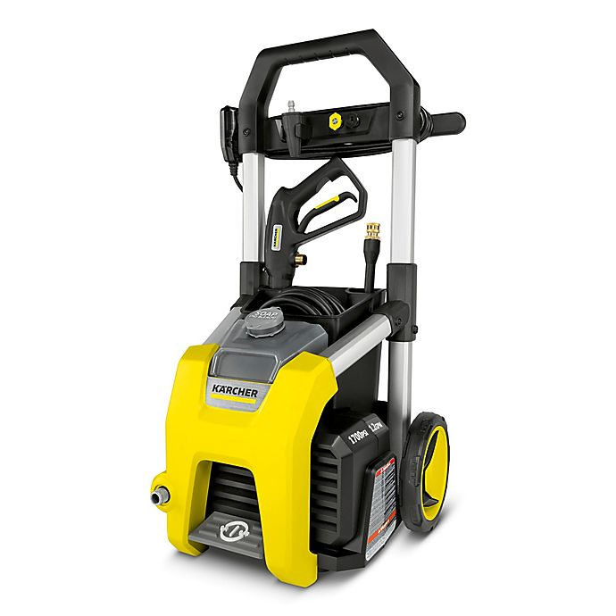 Alternate image 1 for Karcher® 1700 PSI Electric Pressure Washer in Yellow/Black