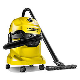 Karcher® WD4 Wet/Dry Vacuum in Yellow/Black