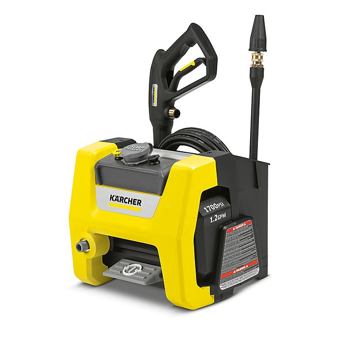 Alternate image 1 for Karcher® 1700 PSI Cube Electric Power Washer in Yellow/Black